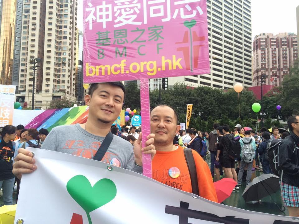▲ 台灣相比於亞洲其他國家,對同志議題更是豁達,每年的同志遊行是亞洲的盛事。(圖片由受訪者提供)